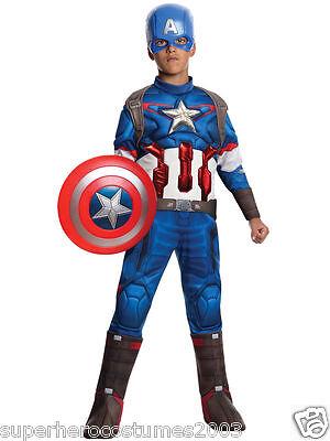 Avengers Age of Ultron Captain America Muscle Costume Marvel Comics 8-10 610425