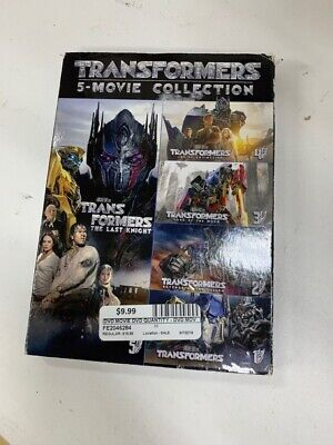 TRANSFORMERS 5 MOVIE DVD COLLECTION (FE2046284)