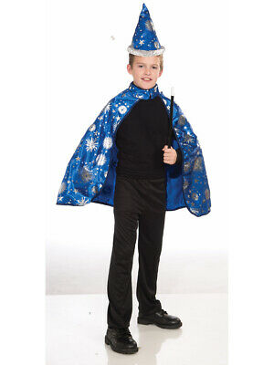 Child's Boys Girls Wizard Wizardess Magician Costume Medium 8-10 - Wizard Costume For Boy