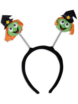 Halloween Character Bouncy Funny Witch Bopper Headband Costume Accessory](Halloween Headband Boppers)