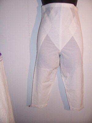 Adonna Nylon panties NWOT panty underwear shaper girdle sz 32 XL white legs