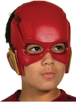 Child's Boys DC Comics Justice League The Flash 1/2 Mask Costume Accessory