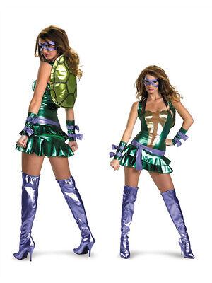 TMNT Ninja Turtles Donatello Costume Womens Large
