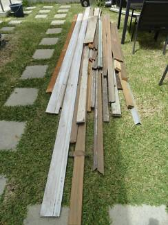 Bulk lot of New & Recycled timber lengths