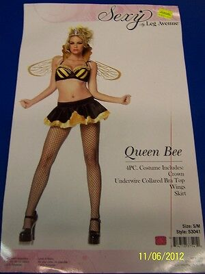 Bumble Bee Halloween Costumes Adults (4 pc. Queen Bee Bumble Bumblebee Animal Dress Up Halloween Sexy Adult)