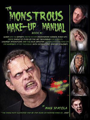 Frightening Masks (Morris Costumes Makeup & Masks Monstrous Frightening Horror Make Up Book.)