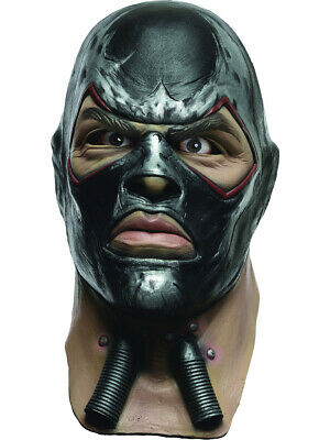 Adult Batman Arkham City Deluxe Bane Overhead Latex Mask Costume Accessory - Adult Bane Mask
