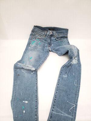 Amiri Broken Artist Paint Splatter Men's Jeans (Sz 30) P12L1637B