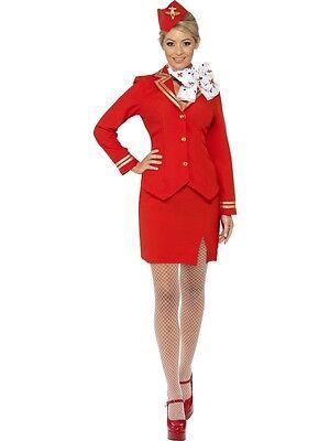 - Air Hostess Fancy Dress Kostüm