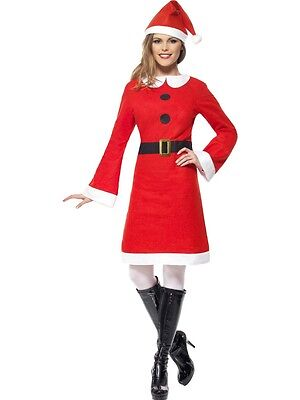 Adult Sexy Miss Santa Claus Helper Christmas Costume](Miss Claus Costume)