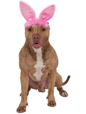 Pink Easter Bunny Rabbit Ears For Pet Dog Costume - Dog Bunny Ears