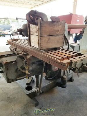 19-12 X 88 Used Kearney Trecker Plain Type Horizontal Milling Machine W Un