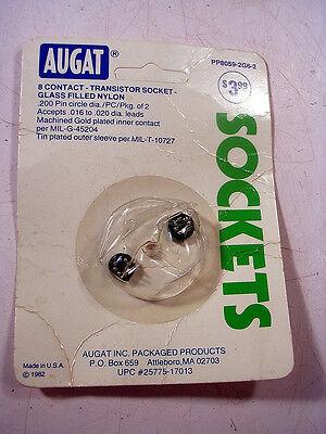 Augat Pp8059-2g6-2  Transistor Socket 8 Contact New