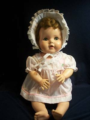 """Vintage Baby Doll ~❤️~ American Character Toodles 20"""" Rooted Hair 1950's"""
