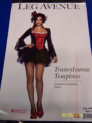 Transylvania Temptress Dracula Vampire Fancy Dress Halloween Sexy Adult Costume](Transylvania Temptress Halloween Costume)