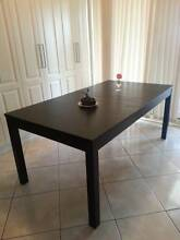 6-8 Seater Extendable Wooden Dining Table Glendenning Blacktown Area Preview