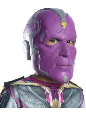 Child's Marvel Comics Avengers 2 Purple Vision Mask Costume Accessory