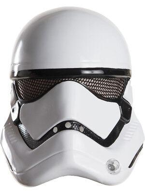 Adults Star Wars Episode VII Stormtrooper 1/2 Mask Helmet Costume Accessory - Star Wars Mask