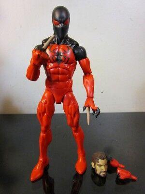 Marvel Legends - Spider-Man Sp//dr Series - Scarlet Spider - Loose~