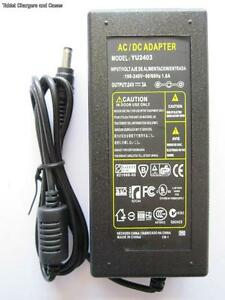 24V 3A 3000mA AC-DC Switching Adapter Desktop Power Supply YT-2403 PSU 2.5/2.1