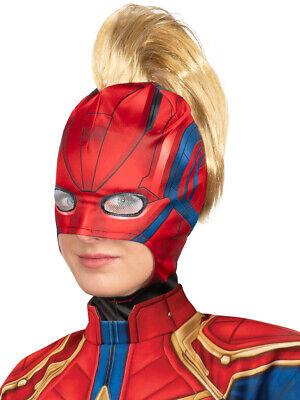 Women's Captain Marvel Outer Space Flight Mask Costume - Women's Captain Costume