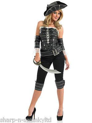 Damen Sexy Schiffskamerad Piraten Junggesellinnenabschied Halloween Kostüm Kleid