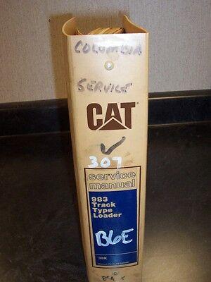 Cat Caterpillar 983 Track Type Crawler Loader Shop Service Repair Manual