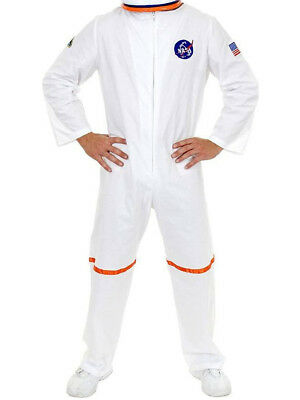 Space Suit Costumes (Adult Men's White NASA Astronaut Space Suit)