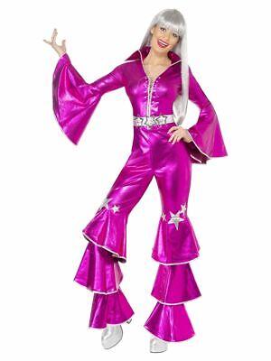 SMIFFY 38520 70er Jahre Musik Star Tanz Traum Disco Party Karneval Damen Kostüm