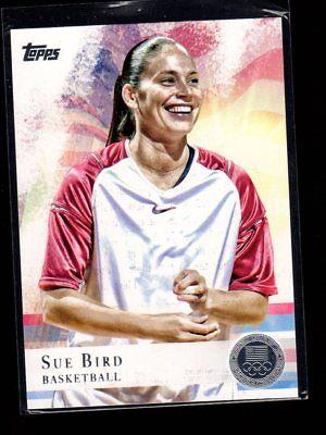 SUE BIRD - 2012 OLYMPICS - BASKETBALL - SILVER MEDAL - TOPPS #20