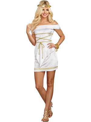Adult's Womens Lustful Ancient Greek Goddess Beauty Costume (Adult Greek Goddess Costume)