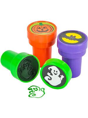 Halloween Decoration Art (Set Of 24 Assorted Plastic Stamper Stamps Art Halloween Decoration)