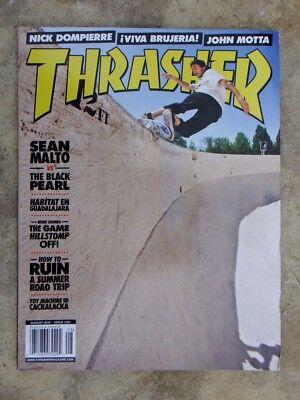 20848943be August 2010 Thrasher Skateboarding Magazine