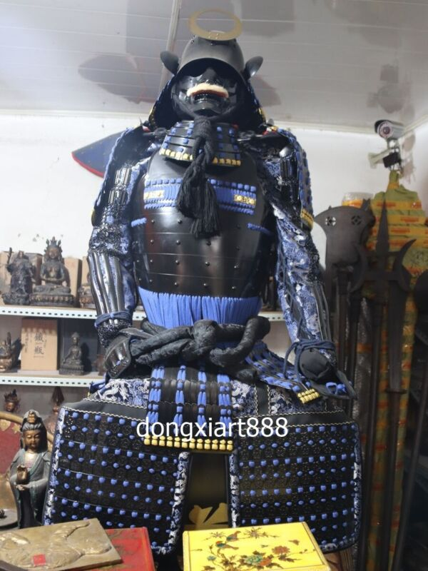 iron Handwork weave Japanese ancient times warfare soldier warrior Armor helmet