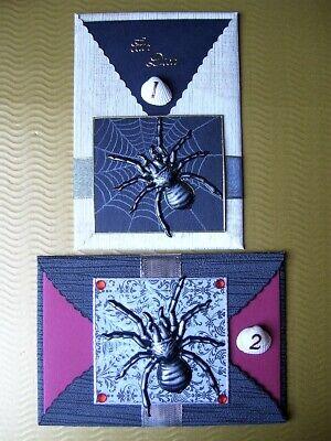 e mit Motiv Spinne Tarantel Vogelspinne gruselig Halloween  (Halloween Grußkarten)