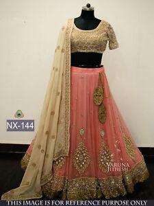 Bollywood Ethnic Designer Saree Party Wear Women Lehenga Choli Indian Pakistani