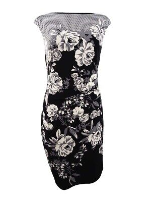 Lauren by Ralph Lauren Women's Floral-Print Jersey Dress