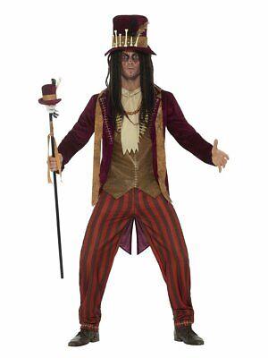 Voodoo Witch Doctor Halloween Costumes (Smiffy's Deluxe Voodoo Witch Doctor Halloween Costume Adult Mens)