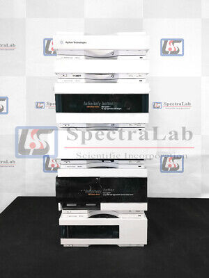 Agilent 1260 Infinity Hplc System With G4302a Bin Pump Dad 1 Year Warranty