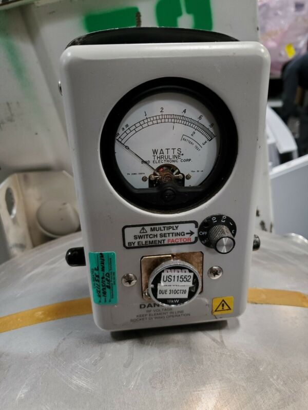 Bird 4410A Thruline RF Wattmeter - Broadband - Multi-Power-Range - High Accuracy