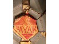 Bayard Nebraska Oval Bumper Sticker or Helmet Sticker D5006
