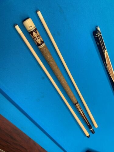 High End Custom Viking Cue Q1 Line from the late 90s with 2 shafts
