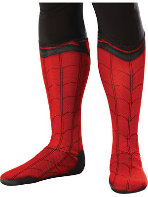 Adults Spider-Man Homecoming Boot Tops Costume Accessory - Costume Boot