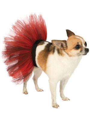 Medium Large Black Red Halloween Ballet Dancer Tutu Skirt For Pet Dog](Halloween Tutus For Dogs)