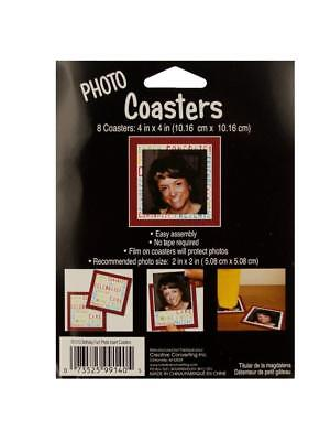 Photo Coasters Set (set of 8) - Photo Coaster