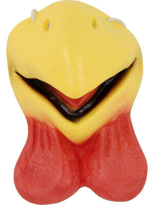 Adult's Cute Farm Animal Chicken Nose Beak Costume Accessory