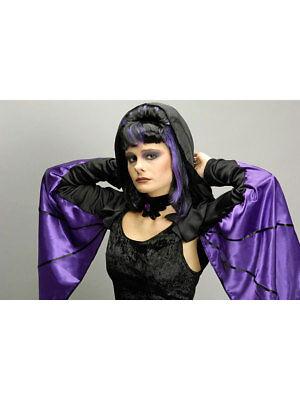 Kostüm für Erwachsene Fledermaus-Flügel Violett Karneval - Fledermaus Kostüm Für Erwachsene
