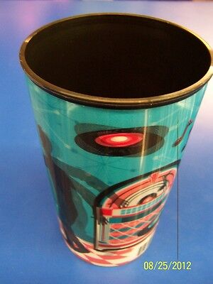 Rock N' Roll 50's Diner Retro Sock Hop Theme Party 22 oz. Lenticular Plastic Cup