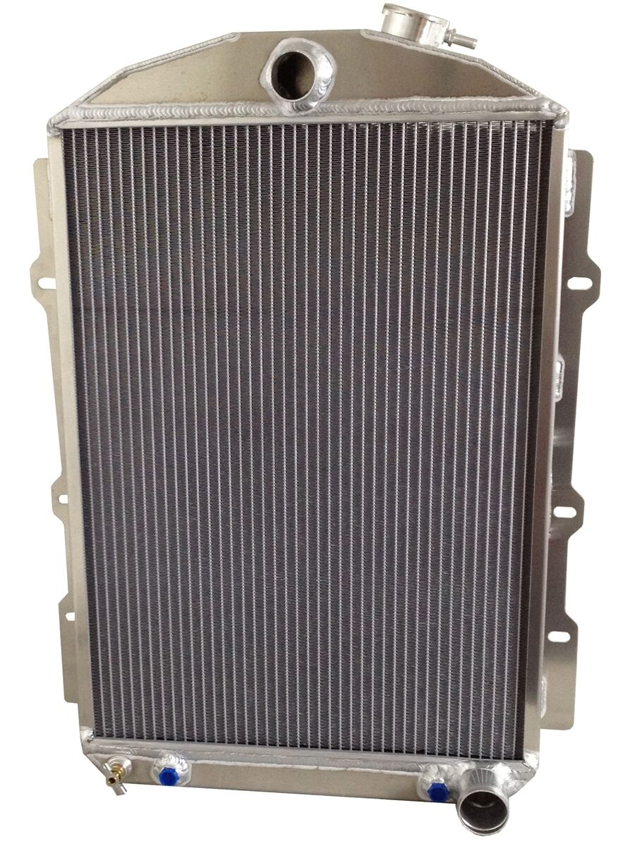 How Did Radiator Plants Become The Best: 1938 CHEVROLET STREET ROD (A/T) ALUMINUM RADIATOR...MADE