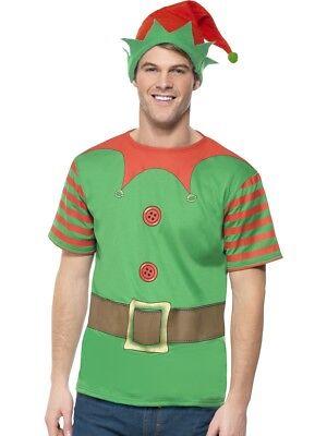 Erwachsene Elfen Sofort Set Weihnachtsmann Helfer Weihnachten Herren Lustige